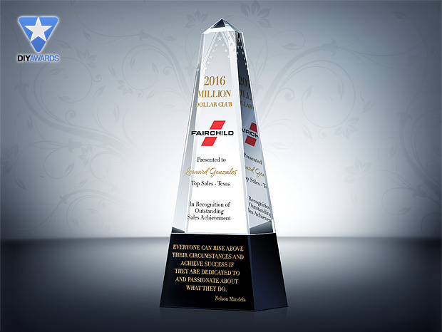 Top Sales Award Obelisk