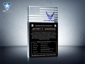Air Force Retirement Plaque